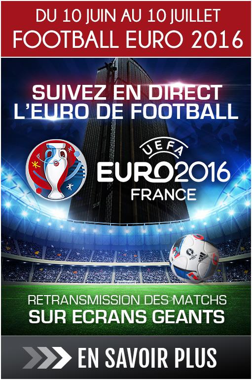 Restaurant bar restransmission des matchs de l'EURO de Football 2016