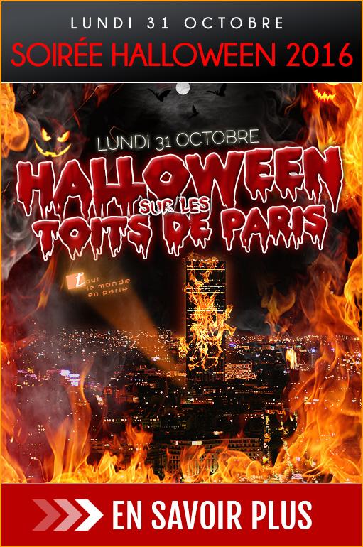 Célèbrez Halloween au restaurant Tout le Monde en Parle Paris Montparnasse