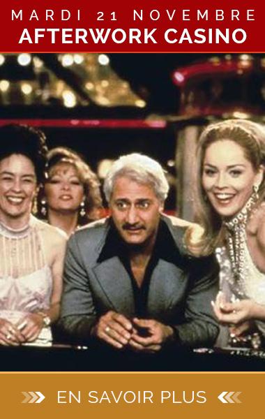 Soirée afterwork Casino et club