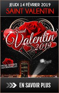 Dîner en amoureux au champagne sur les toits de Paris pour la Saint Valentin 2019