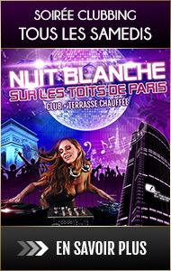 Soirée clubbing tous les samedis soirs au Tout le Monde en Parle : Nuit blanche sur les toits de Paris, DJ Généraliste